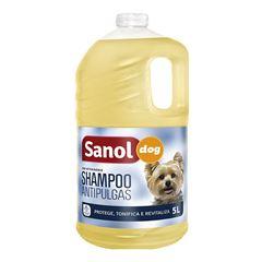 SHAMPOO SANOL DOG 5L ANTIPULGAS