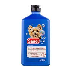 SHAMPOO SANOL DOG 500ML ANTIPULGAS