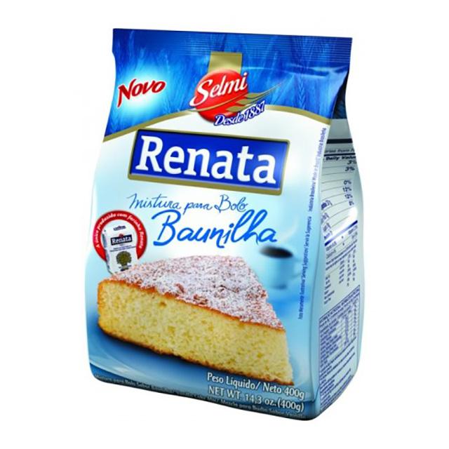 MIST P/BOLO RENATA 400G BAUNILHA