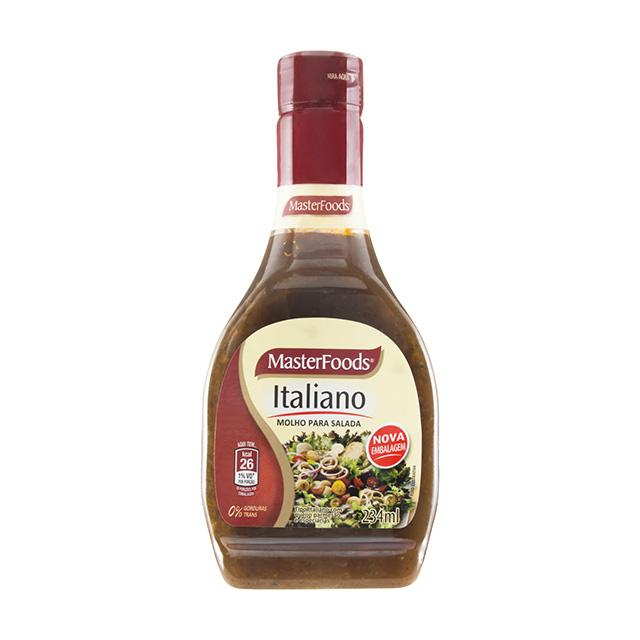 (I)MOLHO SALADA DRESSING 234ML ITALIANO