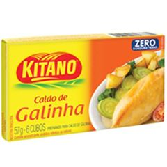 CALDO KITANO 10X57G GALINHA