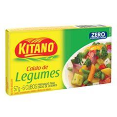 CALDO KITANO 10X57G LEGUMES