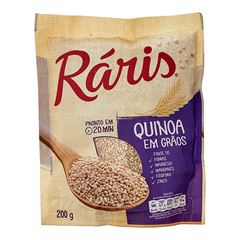 QUINOA RARIS EM GRAOS 200G