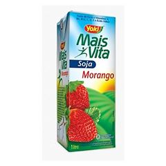 BEBIDA SOJA M.VITA 200ML MORANGO