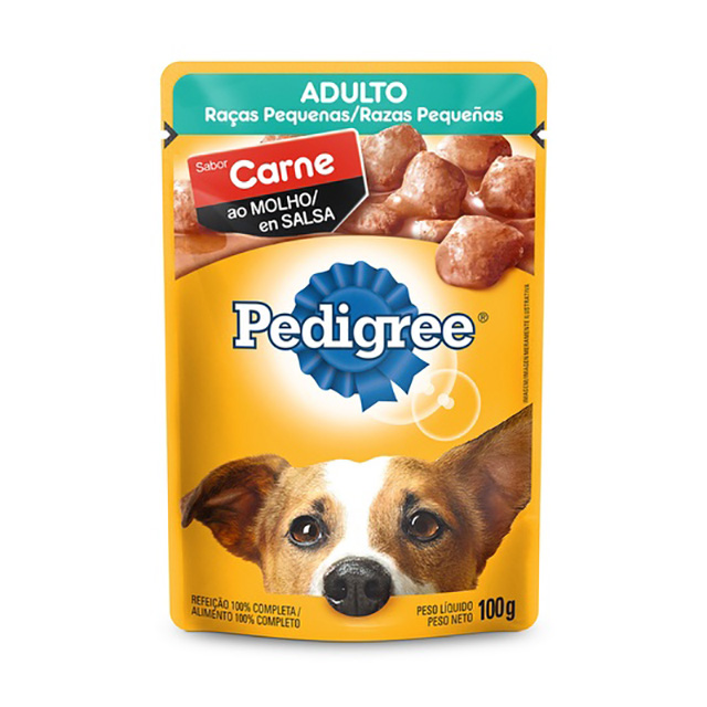 PEDIGREE POUCH  RP CARNE ADULTO 100G