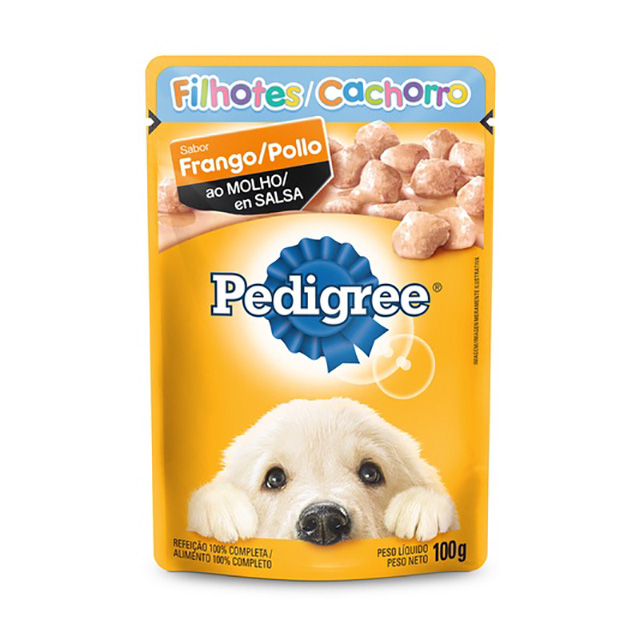 PEDIGREE POUCH FRANGO JR 100G
