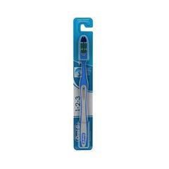 ESCOVA DENTAL ORAL B 123 CLASSIC LIMP BRIL C/1UN
