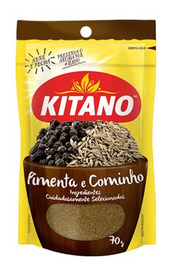 CONDIMENTO KITANO 70G PIMENTA/COMINHO