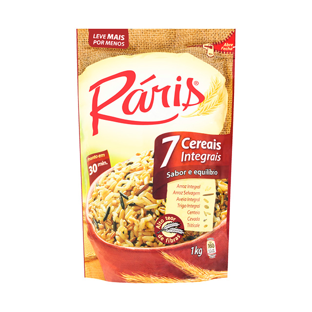 ARROZ RARIS 7 CEREAIS INTEGRAIS 1KG