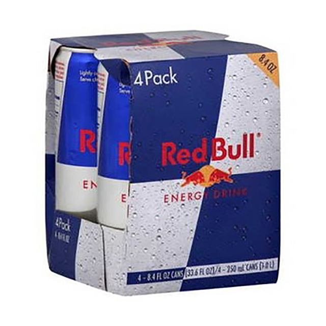 RED BULL ENERGY DRINK 4X250ML