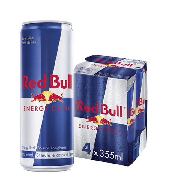 RED BULL ENERGY DRINK 4X355ML