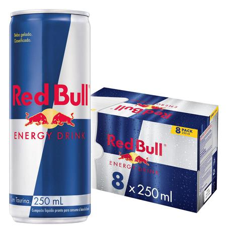 RED BULL ENERGY DRINK 8X250ML