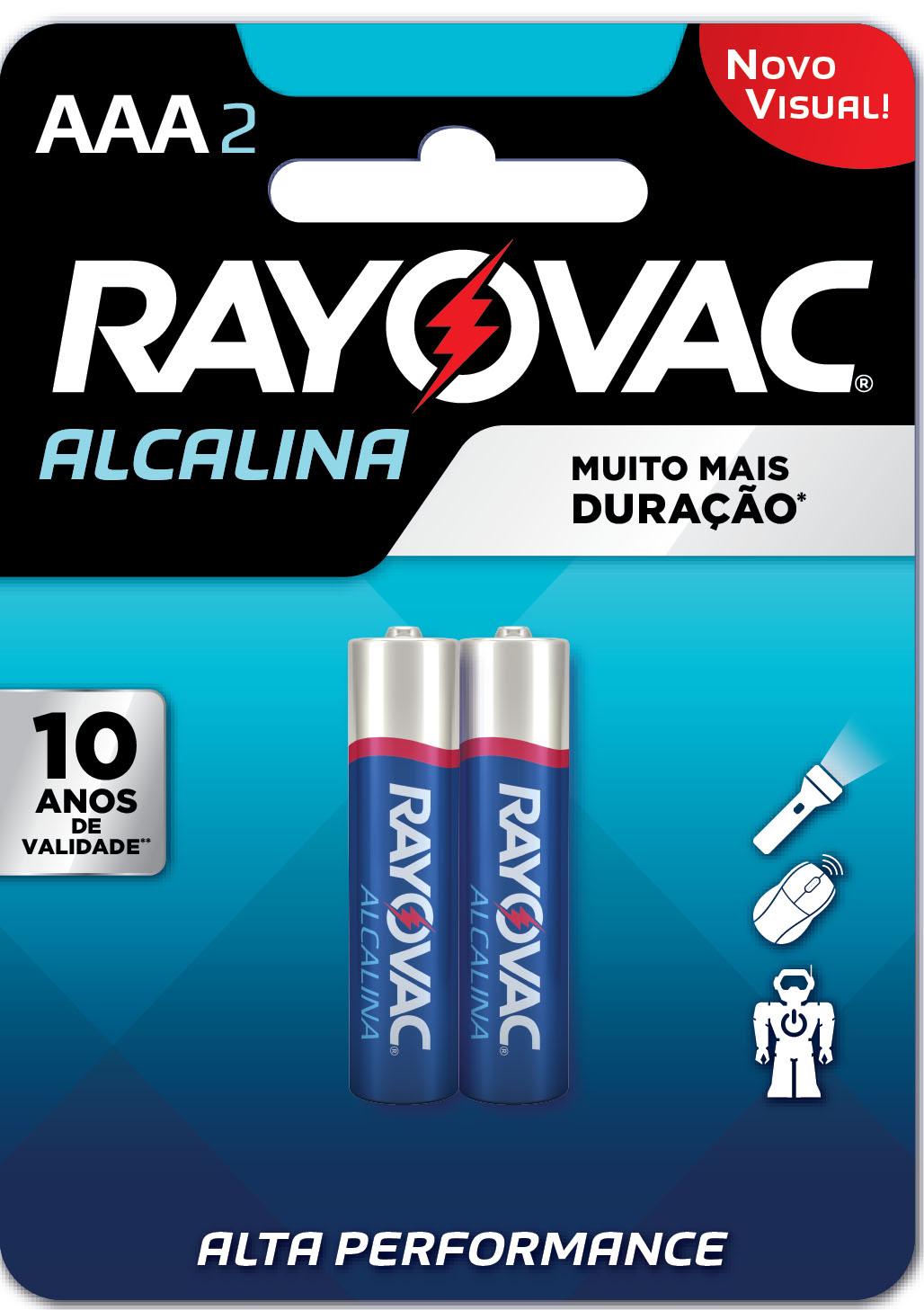 PILHA ALCALINA AAA C/2UN  20912