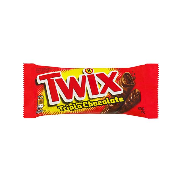 TWIX TRIPLO CHOCOLATE 18X40G