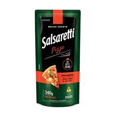 MOLHO DE TOMATE SALSARETTI 340G PIZZA
