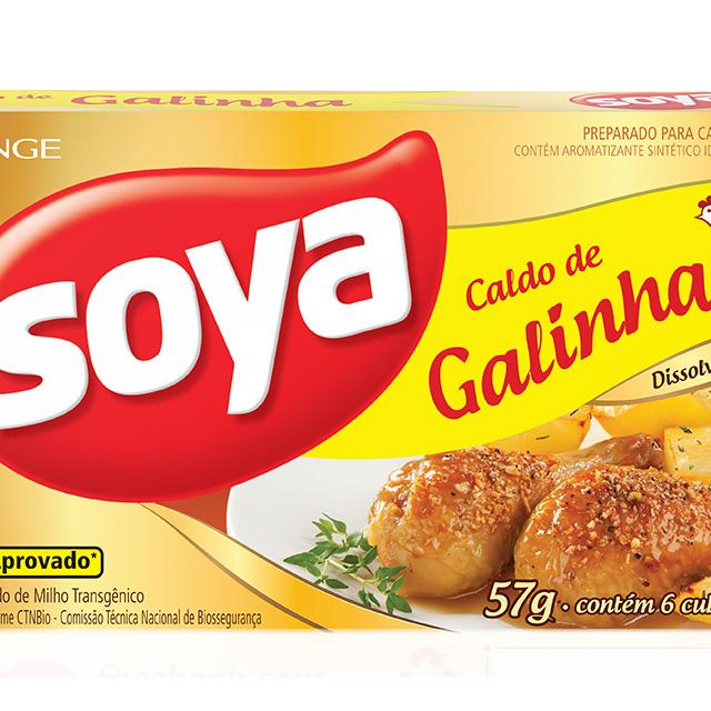 CALDO SOYA 10X57G GALINHA