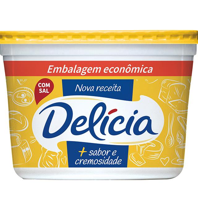 MARGARINA DELICIA 1KG EXT CREMOSA C/SAL