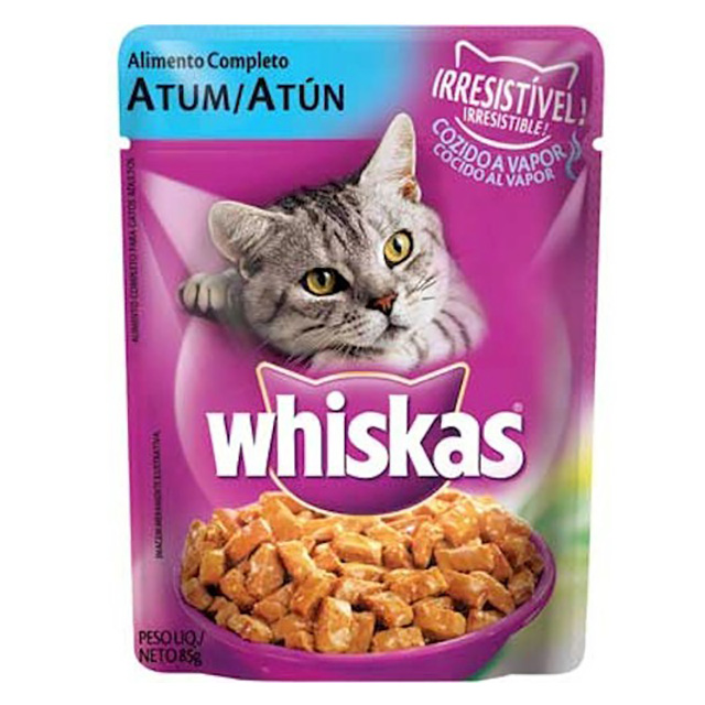 WHISKAS POUCH ADULTO ATUM 85G