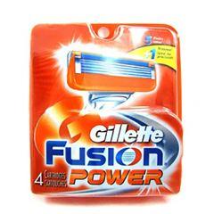 CARGA AP BARB GILLETE FUSION POWER C/4UN