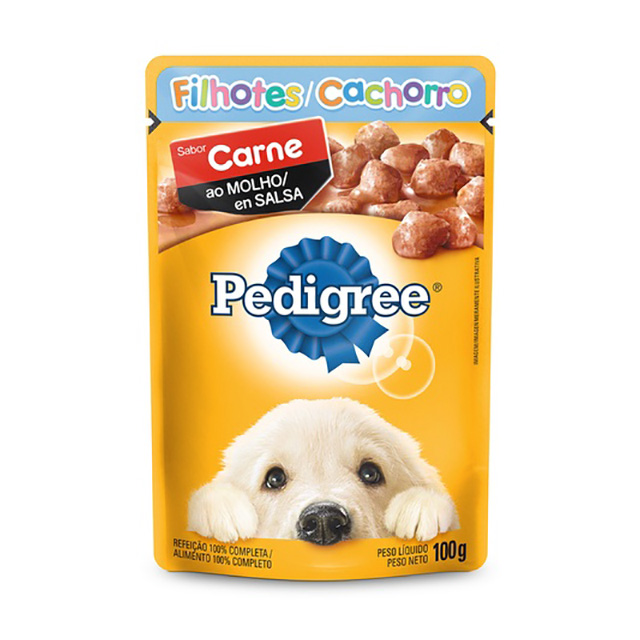 PEDIGREE POUCH CARNE  JR 100G