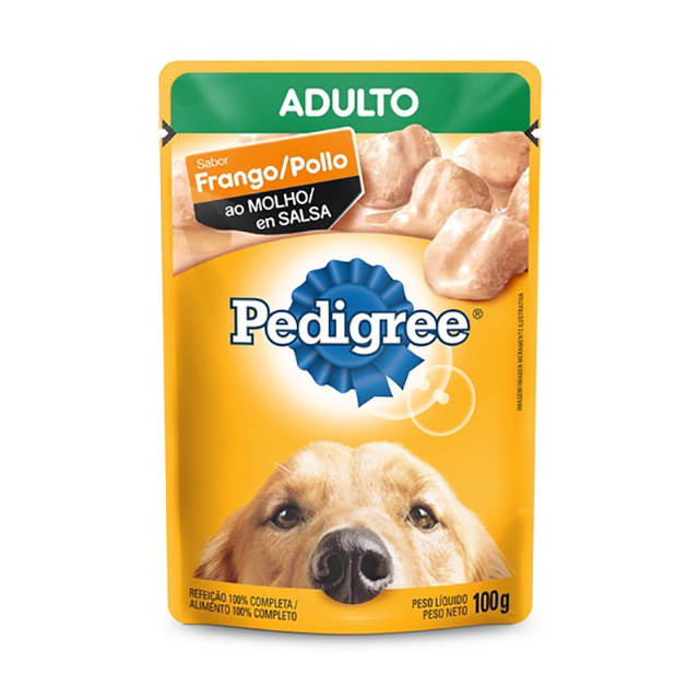 PEDIGREE POUCH RMG FRANGO ADULTO 100G