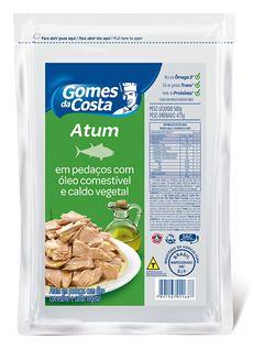 ATUM GDC POUCH EM PEDACOS 500G C/OLEO