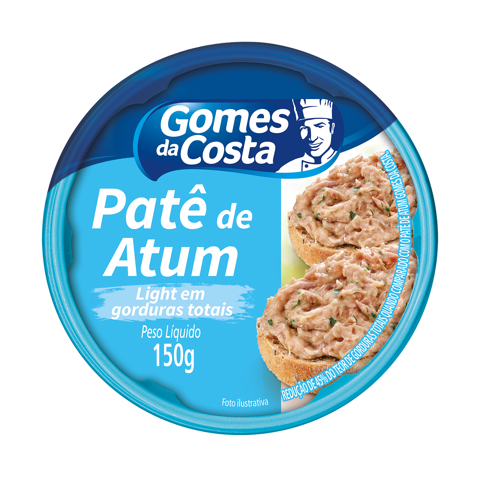 PATE GDC DE ATUM 150G LIGHT