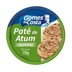 PATE GDC DE ATUM 150G C/AZEITONAS