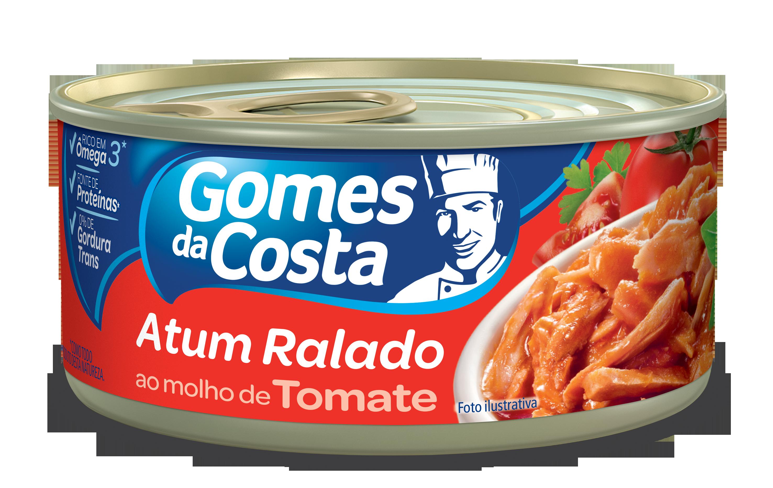ATUM GDC RALADO 170G EM MOLHO DE TOMATE