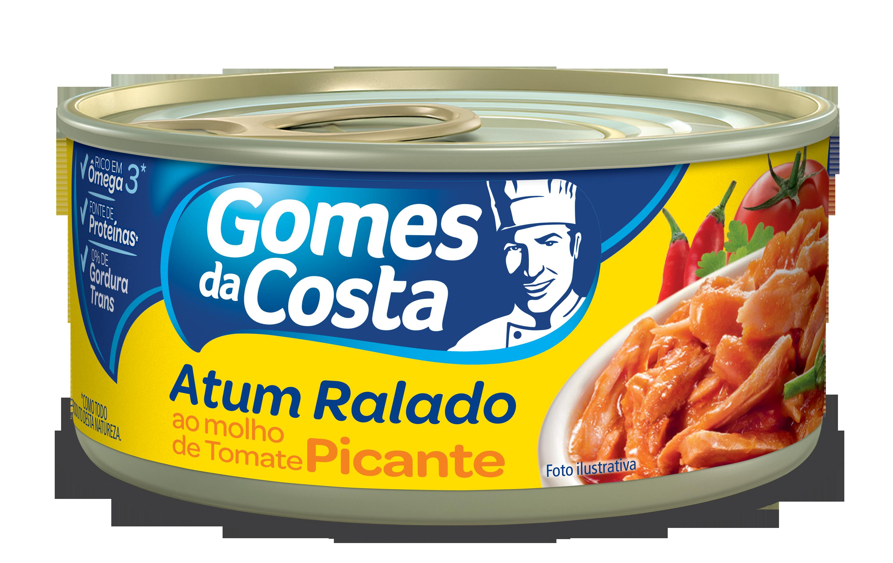 ATUM GDC RALADO 170G MOLHO TOMATE C/PIME