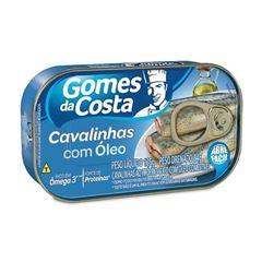 CAVALINHAS AO OLEO 125G