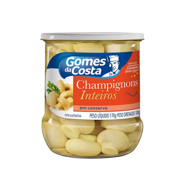 CHAMPIGNONS GDC INTEIROS CONSERVA 170G