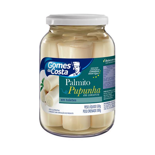 PALMITO PUPUNHA CONSERVA 530G