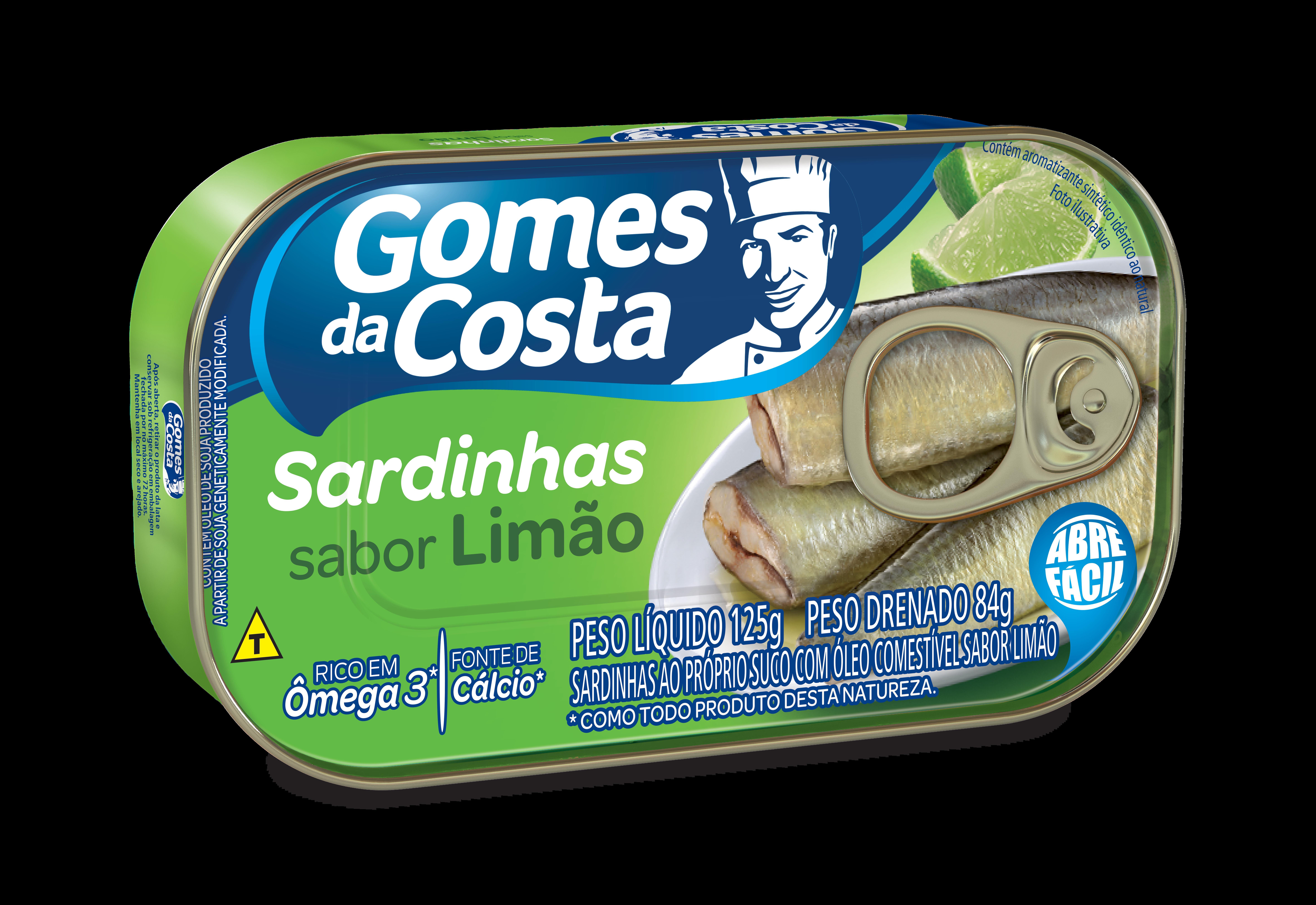 SARDINHA GDC 125G OLEO SABOR LIMAO