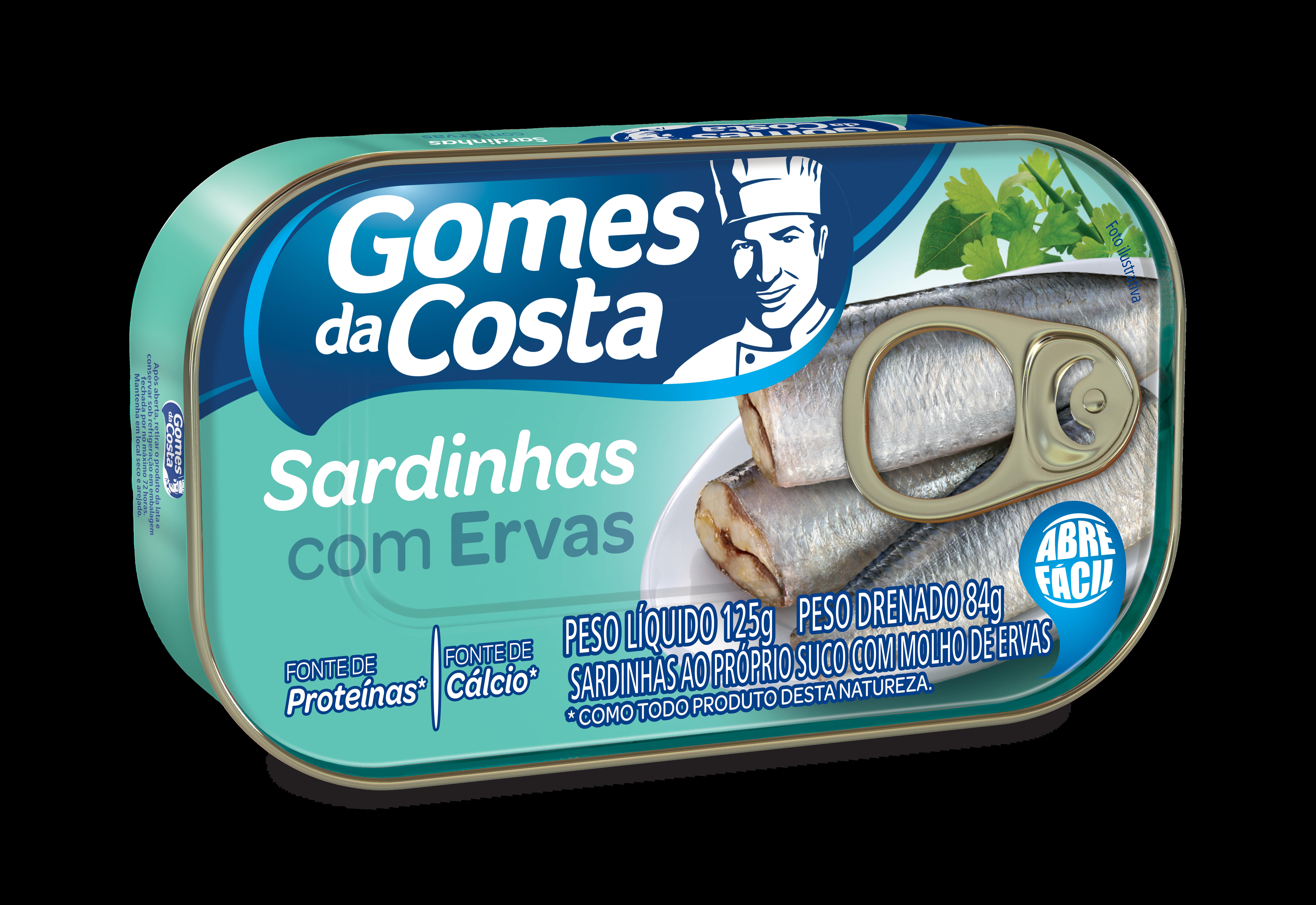 SARDINHA GDC 125G C/MOLHO DE ERVAS