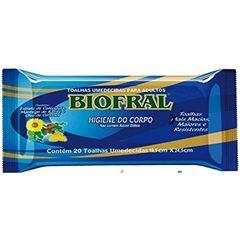 TOALHA UMED BIOFRAL FLOWPACK C/20UN
