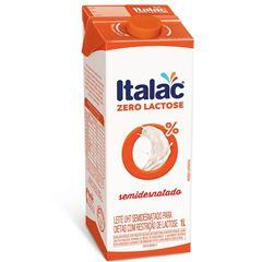 LEITE UHT ITALAC 1L SEMIDESNATADO S/LACT