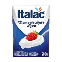 CREME DE LEITE UHT ITALAC 200ML