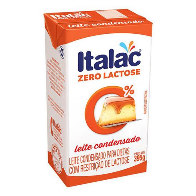 LEITE CONDENSADO ITALAC 395G S/LACTOSE
