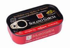 FILE SARDINHA SOLANO TOMATE/AZEITON 125G