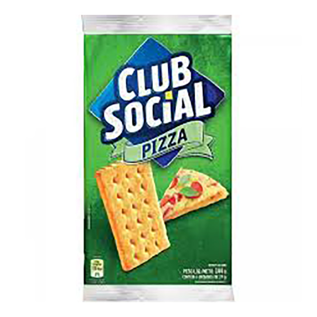 BISCOITO CLUB SOCIAL 06X23.5G PIZZA