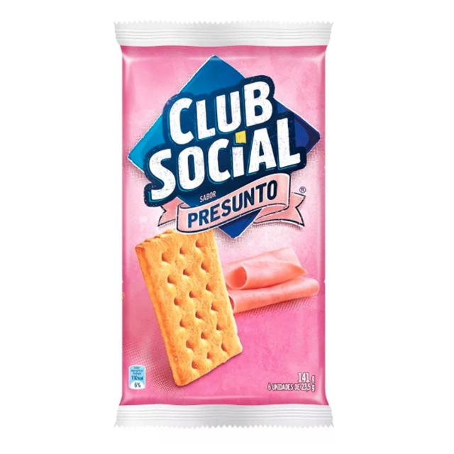 BISCOITO CLUB SOCIAL 06X23.5G PRESUNTO