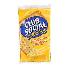 BISCOITO CLUB SOCIAL 06X23.5G QUEIJO