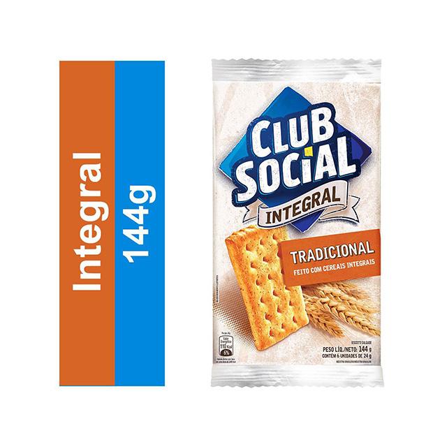 BISCOITO CLUB SOCIAL 06X24G INTEGRAL