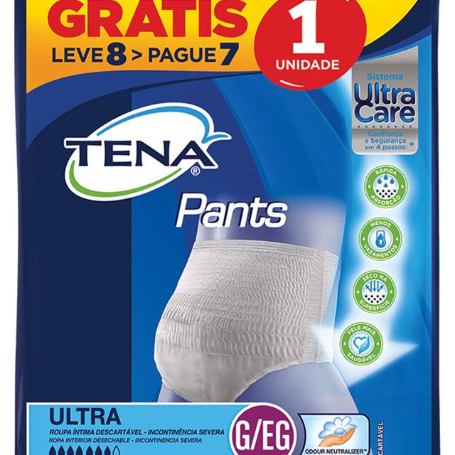 ROUPA INTIMA TENA PANTS ULTRA G/EG L8P7