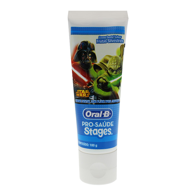 CREME DENTAL ORAL B STAGES STARWARS 100G