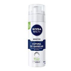 ESPUMA BARBEAR NIVEA 200ML SENSITIVE