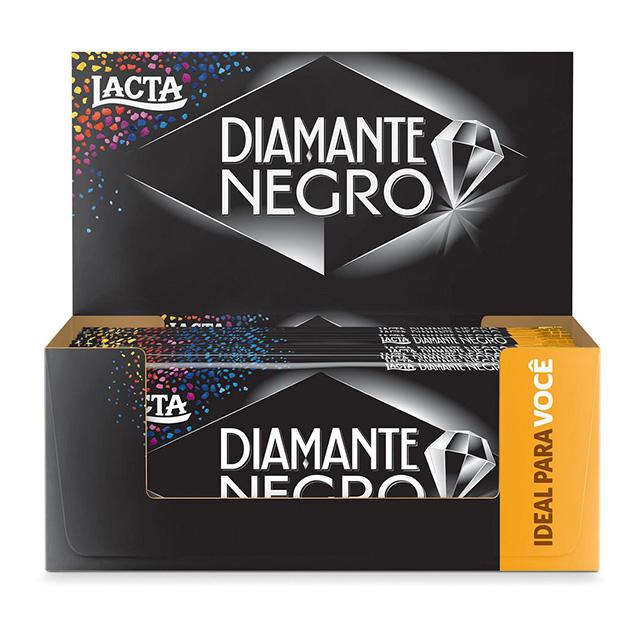 LACTA 17X90G DIAMANTE NEGRO