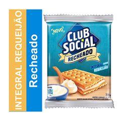 BISCOITO CLUB SOCIAL RECHEADO 04X26.5G REQUEIJAO