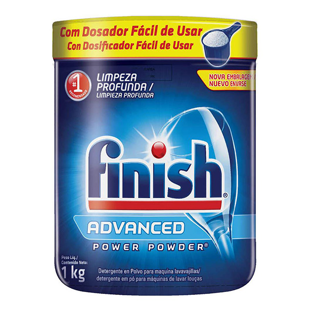FINISH DETERGENTE PO 1KG C/DOSADOR